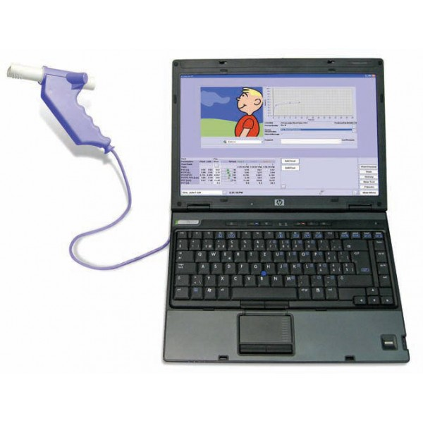 Ndd Easy On Pc Based Spirometry System 2700 3 Cardiology